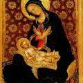 Gentile da Fabriano. Vierge d'humilité (1415-16)