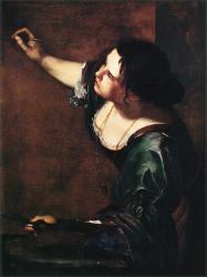 Gentileschi. Autoportrait en allégorie de la peinture (1638-39)