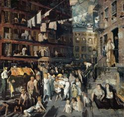 George Bellows. Cliff Dwellers (1913)