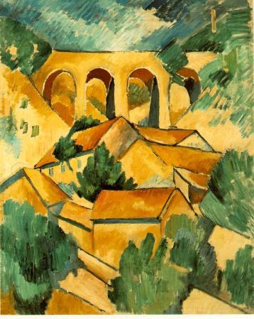 Georges Braque. Viaduc à l'Estaque (1908)