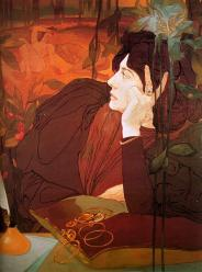 Georges de Feure. La voix du mal (1895)