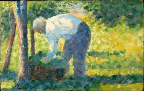 Georges Seurat. Le jardinier (1882-83)