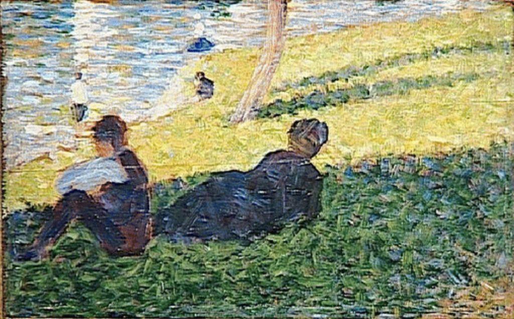 Georges Seurat Un Dimanche Apres Midi Sur L Ile De La Grande Jatte 1884 86