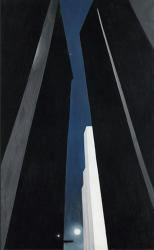 Georgia O'Keeffe. City Night (1926)