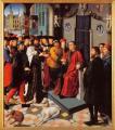 Gérard David. Le jugement de Cambyse, panneau gauche (1498)