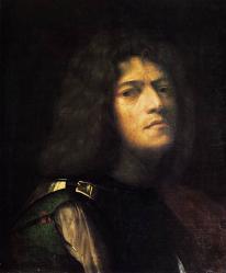 Giorgione. Autoportrait en David  (v. 1510)
