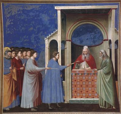 Giotto. La remise des verges (1304-06)