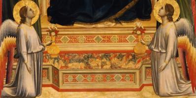 Giotto. Vierge d'Ognissanti, détail