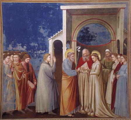 Giotto. Le mariage de la Vierge (1304-06)