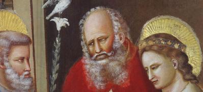 Giotto. Le mariage de la Vierge, détail (1304-06)