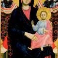 Giotto. Madone de San Giorgio alla Costa (1290-95)