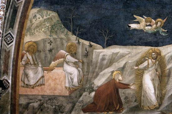 Giotto. Noli me tangere (v. 1320)