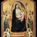 Giotto. Vierge d'Ognissanti (v. 1310)