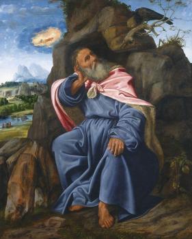 Giovanni Girolamo Savoldo. Élie nourri par les corbeaux (v. 1510)