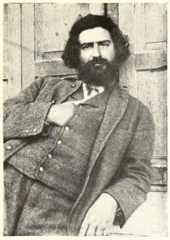 Giovanni Segantini. Photographie (1899)