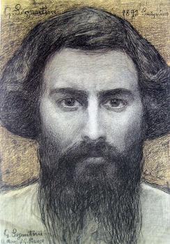 Giovanni Segantini. Autoportrait (1893)