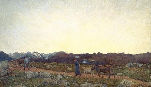 Giovanni Segantini. La nature (1897-99)