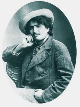 Giovanni Segantini. Photographie (1878)