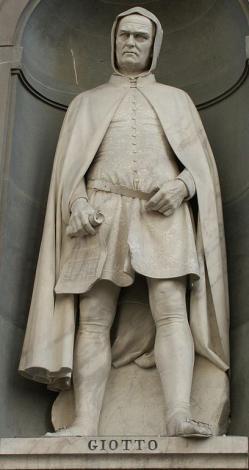 Giovanni Duprè. Statue de Giotto (1845)