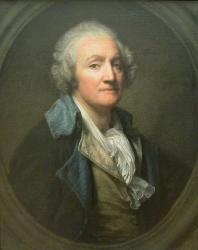 Greuze. Autoportrait (1769)