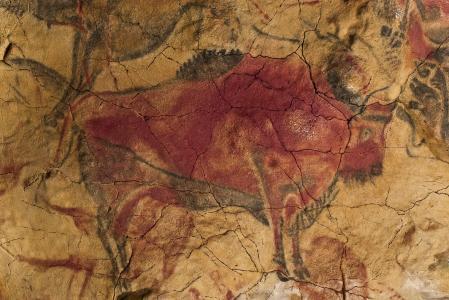 Grotte d'Altamira, bison (- 15 000)