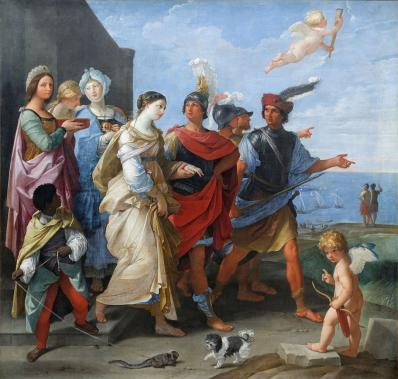 Guido Reni. L'enlèvement d'Hélène (1626-29)