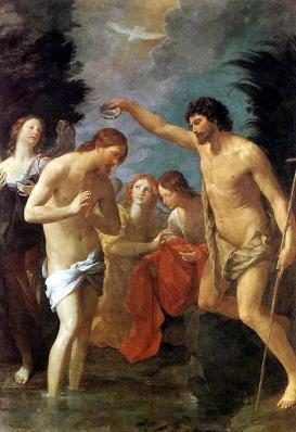Guido Reni. Le baptême du Christ (1623)