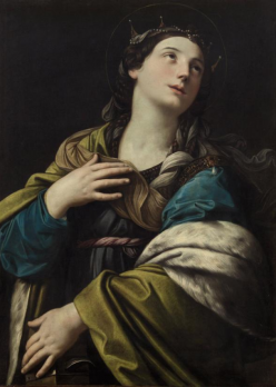Guido Reni. Sainte Catherine (1610-15)