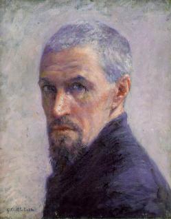 Gustave Caillebotte. Autoportrait (v. 1892)