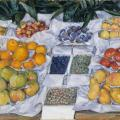 Gustave Caillebotte. Fruits à l'étalage (1881-82).