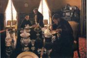 Gustave Caillebotte. Le déjeuner (1876)