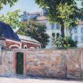 Gustave Caillebotte. Maisons à Argenteuil (1883)