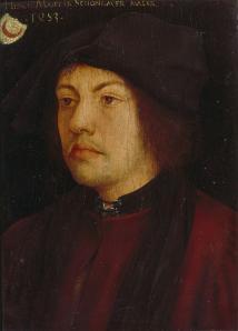 Hans Burgkmair. Portrait de Martin Schongauer (1453-1518)