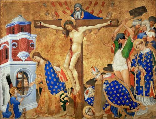 Henri Bellechose. Le retable de saint Denis (v. 1416)