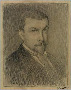 Henri Le Sidaner. Autoportrait (1892)