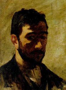 Henri Lebasque. Autoportrait (1888)