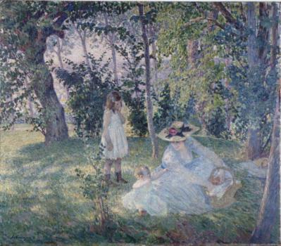 Henri Lebasque. Goûter sur l'herbe (1903)