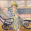 Henri Lebasque. La cigarette (av. 1921)