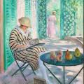 Henri Lebasque. Nono à l'aquarelle (v.1915)