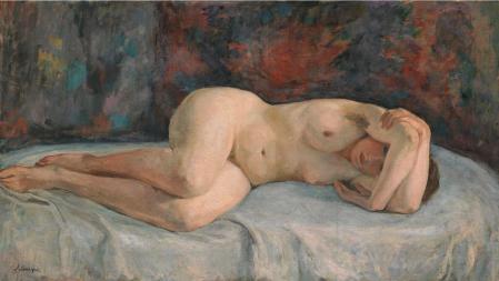 Henri Lebasque. Nu allongé (1925-26)