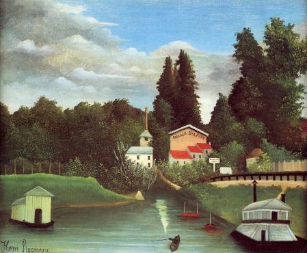 Henri Rousseau. Le moulin d'Alfort (1895)