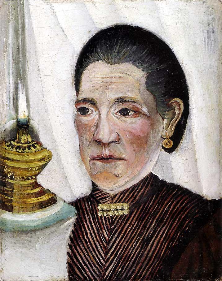 Ca s'est passé en septembre ! Henri-rousseau.-portrait-de-la-seconde-femme-de-l-artiste-1903-.