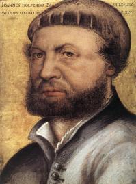 Holbein le Jeune. Autoportrait (1542-1543)