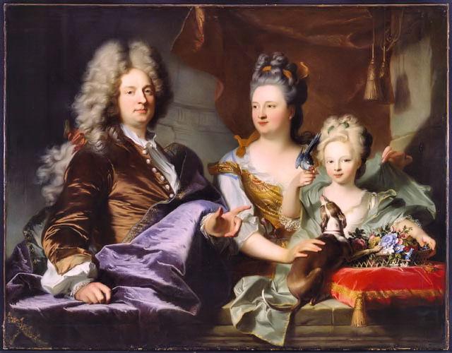 Ca s'est passé en juillet ! Hyacinthe-rigaud-portrait-de-la-famille-le-juge-1699