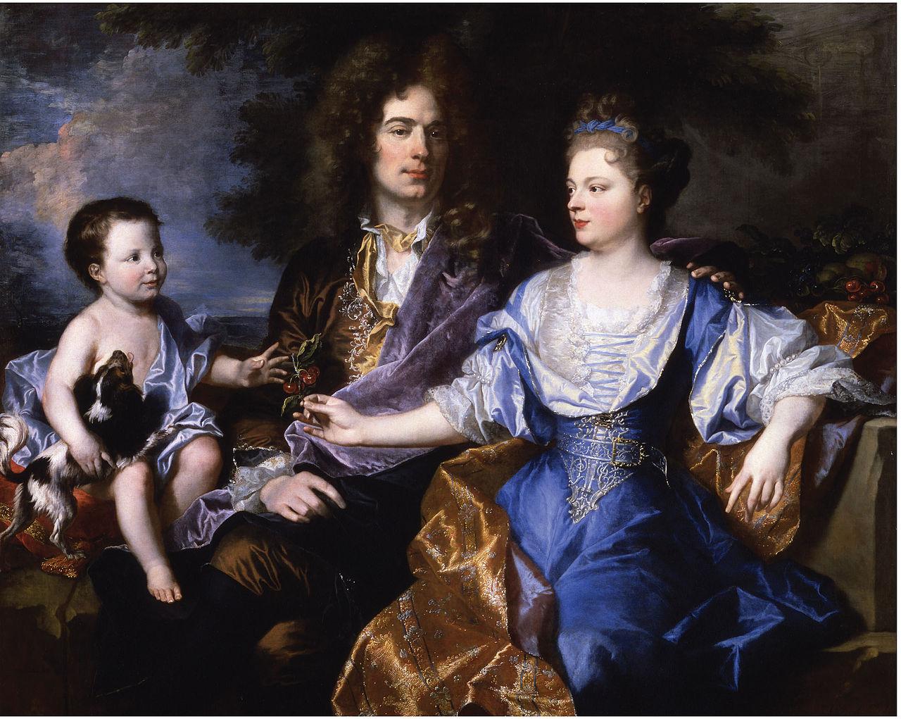 Ca s'est passé en juillet ! Hyacinthe-rigaud-portrait-de-la-famille-leonard-1692
