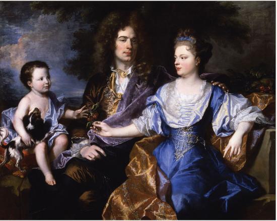 Hyacinthe Rigaud. La famille Léonard (1692)