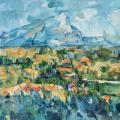Paul Cézanne. Montagne Sainte-Victoire (1904)