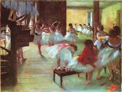 Degas. L'Ecole de danse, 1879-80