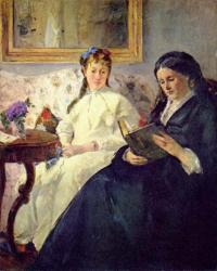 Morisot. La lecture, 1869-70