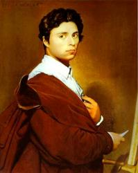 Ingres. Autoportrait (1804)